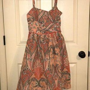 ANN TAYLOR SIZE 0 ADORABLE Sun Dress! Perfect!